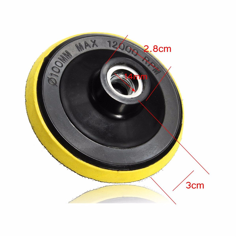 Image 3 - 12pcs/Set 4'/100mm Abrasive Tools Wet Dry Diamond Polishing Pads Sanding Disc Grinder For Granite Stone Concrete Marble Polisher-in Polishing Pads from Tools