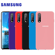 SAMSUNG A70 Case Original Official Genuine Silicone Soft Cover Samsung Galaxy A10 A20 A30 A50