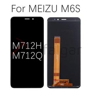 Image 4 - Para meizu m6 display lcd de toque digitador da tela m711h m711m m711q m712h m712q m811q 6t m6s s6 lcd para meizu m6t tela lcd