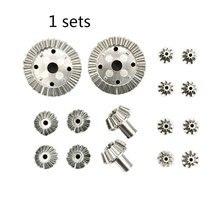 16PCS/SET Durable Use 12T 24T 30T Motor Driving Gear Kits Set for WLtoys 12428 12423 RC Car Model Parts hg p401 p402 p601 rc car motor gear 26t 28t 30t