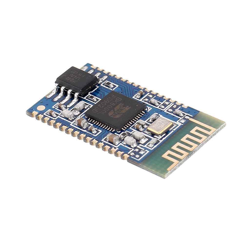 Diy placa de amplificador bluetooth estéreo módulo áudio serial no comando spp transmissão digital bk8000l bluetooth alto-falante