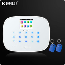 W193 3G 4G WIFI PSTN GSM SMS Home Burglar Alarm LCD GSM SMS Touch Screen Alarm Home Security Intruder System APP Control