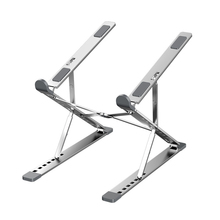 Foldable Laptop Stand Aluminum Portable Notebook Stand Adjustable Height Heat Dissipation Computer Holder Riser For Notebook