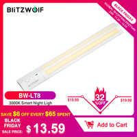 BlitzWolf BW-LT8 détecteur de mouvement LED sous armoire lumière amovible Lithium batterie 3000K couleur température veilleuse blanc chaud