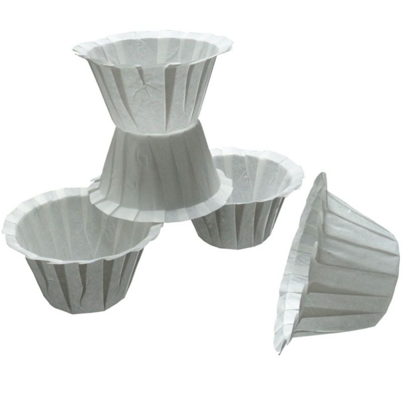 50Pcs Paper Filters Cups Replacement K-Cup Filters For Keurig K-Cup Disposable Cups
