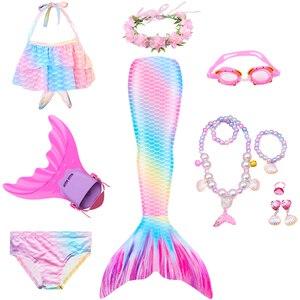 Женский купальный костюм «Русалочка», летнее платье-бикини, вечерние костюмы на день рождения