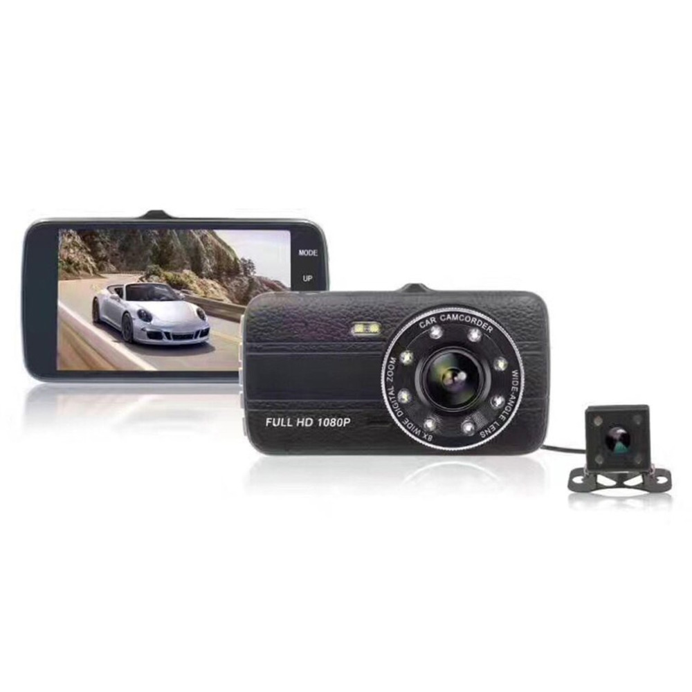 Car DVR Data-Recorder Motion-Sensor Automobile Camera Dual-Lenses Night-Vision 1080P
