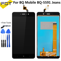 5.5 Inch For BQ BQ 5591 BQ 5591 BQS 5591 BQS5591 Jeans LCD Display+Touch Screen Digitizer Assembly+Tools and Tape|Mobile Phone LCD Screens|   -