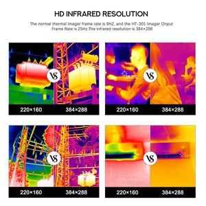 Image 5 - Termocamera HT 301 USB Termica A Infrarossi Imager Mobile Del Telefono Termica A Infrarossi Imager per Android Del Telefono di Tipo C