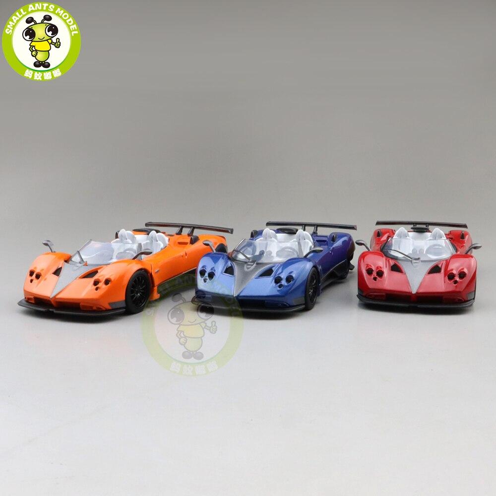1/36 JACKIEKIM Pagani Zonda Diecast Model Racing Car Toys For Kids Pull Back Boys Girls Gifts