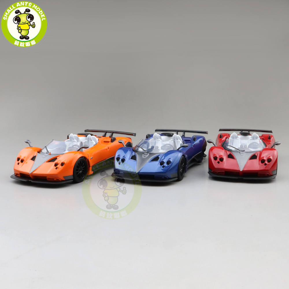 1/36 JACKIEKIM Zonda Diecast Model Racing Car Toys For Kids Pull Back Boys Girls Gifts
