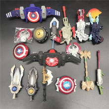 marvel Avengers Super Hero Captain America Comic weapon fit 3.75inch model figure accessories childrens toys