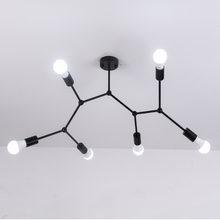 Многоголовочные потолочные светильники светодиодные в стиле