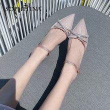 Sophitina/туфли лодочки на массивном каблуке; Милые туфли с