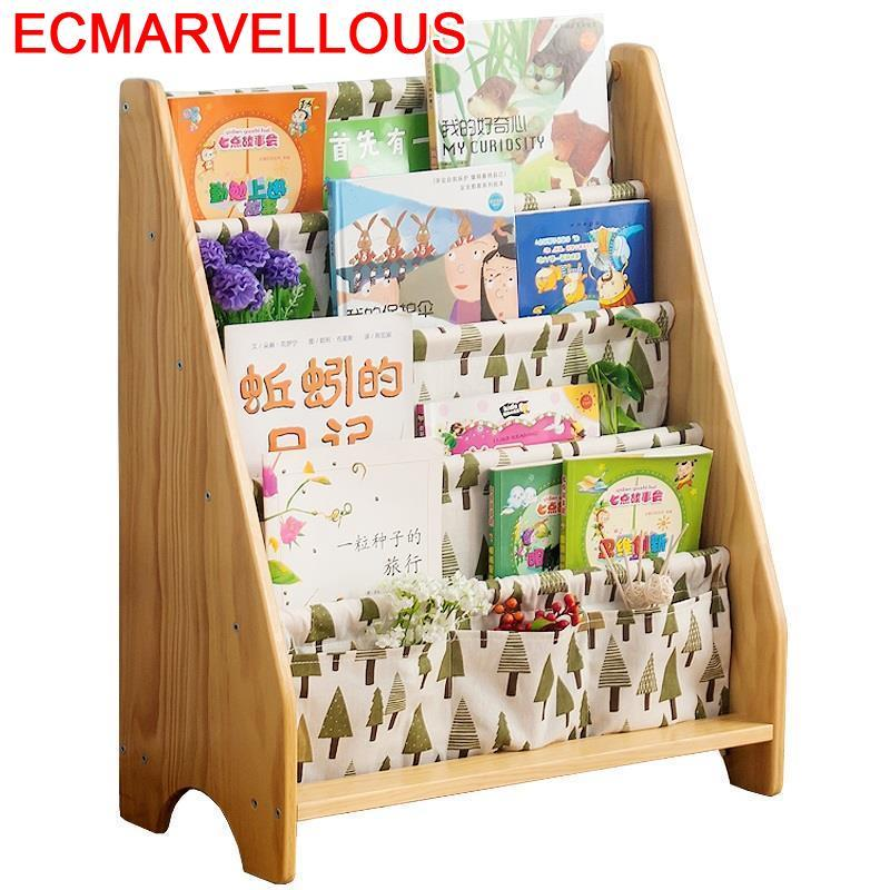 De Cocina Bureau Meuble Dekorasyon Decoracion Rack Display Kids Bois Vintage Wood Furniture Decoration Retro Book Bookshelf Case