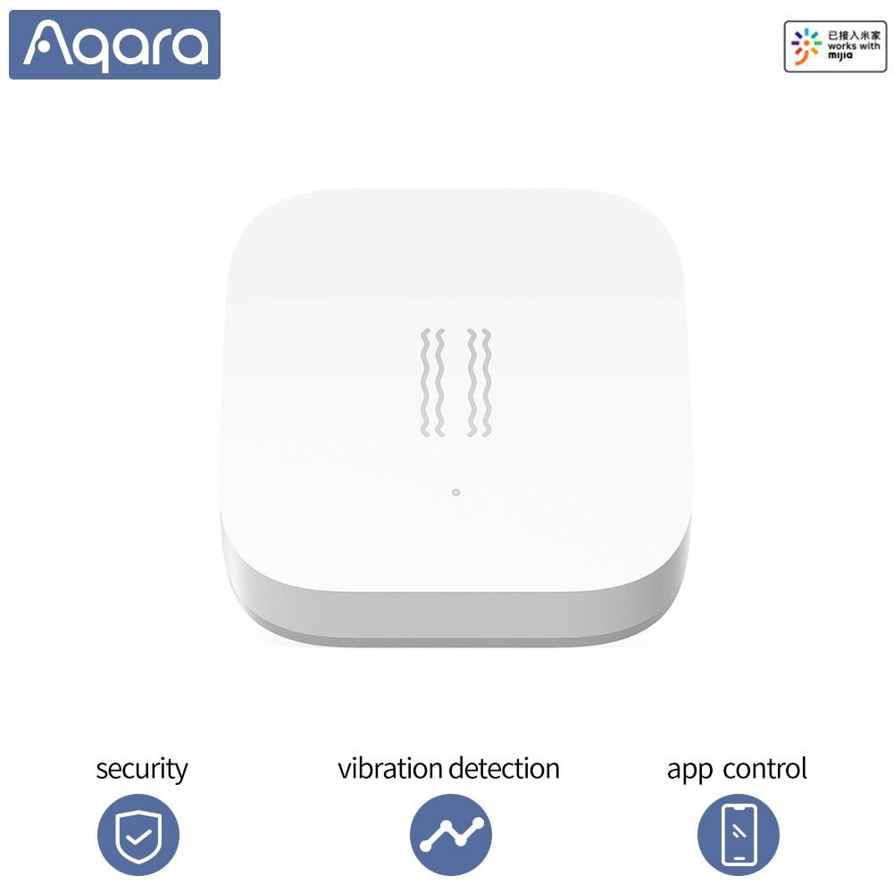 Aqara Shock Sensor Smart Motion Sensor Vibration Detection Alarm Monitor Xiaomi Smart Homekits Zigbee Sensor