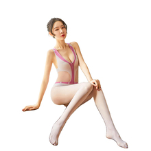 Sexy Lingerie Bodysuits Pantyhose SEX Stockings Hot Erotic Lingerie Open Crotch