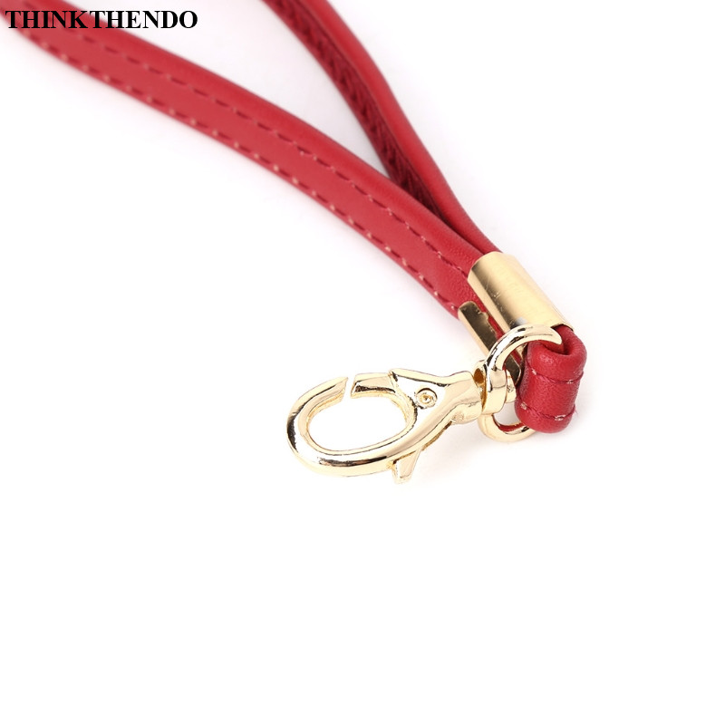 Real Leather 0.8*15 CM Replacement Short Straps Wristlet Handle For Clutches
