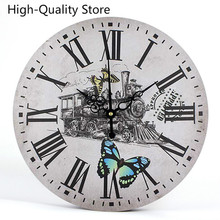Home Living Vintage Reloj de pared de diseño moderno relojes colgantes para decoración del hogar dormitorio cocina baño decoración reloj resistente al agua