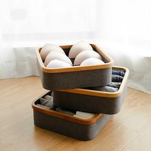 Коробка для хранения нижнего белья ручной работы из ткани в