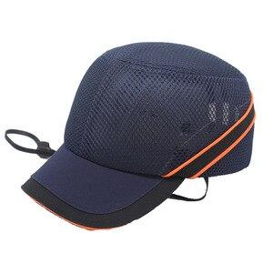 Image 5 - Neue Arbeit Sicherheit Bump Cap Fest Inneren Shell Schutzhülle Helm Baseball Hut Stil Für Arbeit Fabrik Shop Durchführung Kopf Schutz