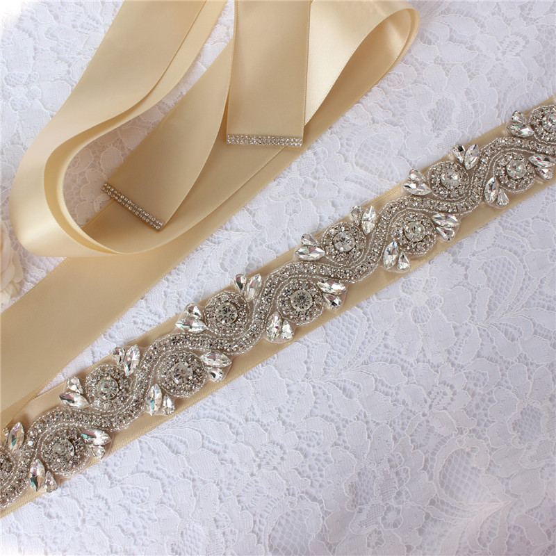Bridal belt wedding dress belt pearl rhinestone dinner belt evening dress belt wedding accessories