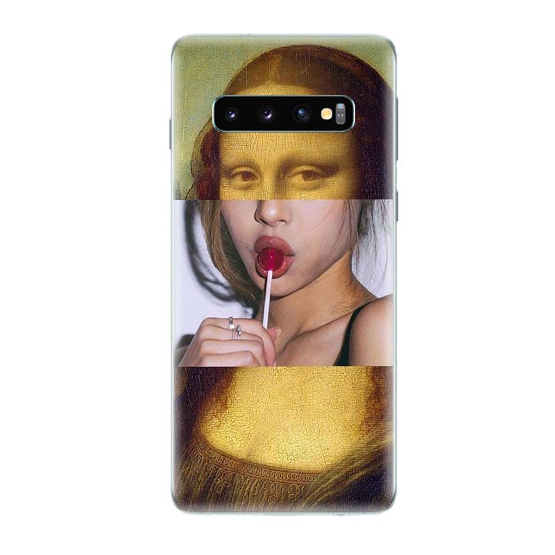 Hot Girl Twerk It Swag Phone Case for Samsung Galaxy S10 Plus S10E Lite A50 A70 A30 A10 A20E M20 M10 A20 A80 A40 Cover in Half wrapped Cases from Cellphones Telecommunications