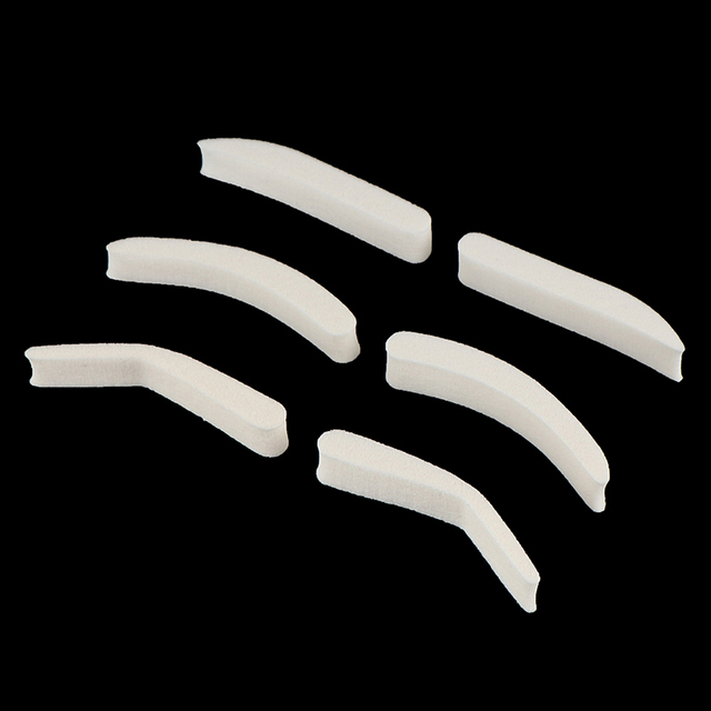 1Pair Eyebrow Template Stamp Sponge Stencils Eye Makeup 3style Natural Brow Type Professional Eye Make Up 2