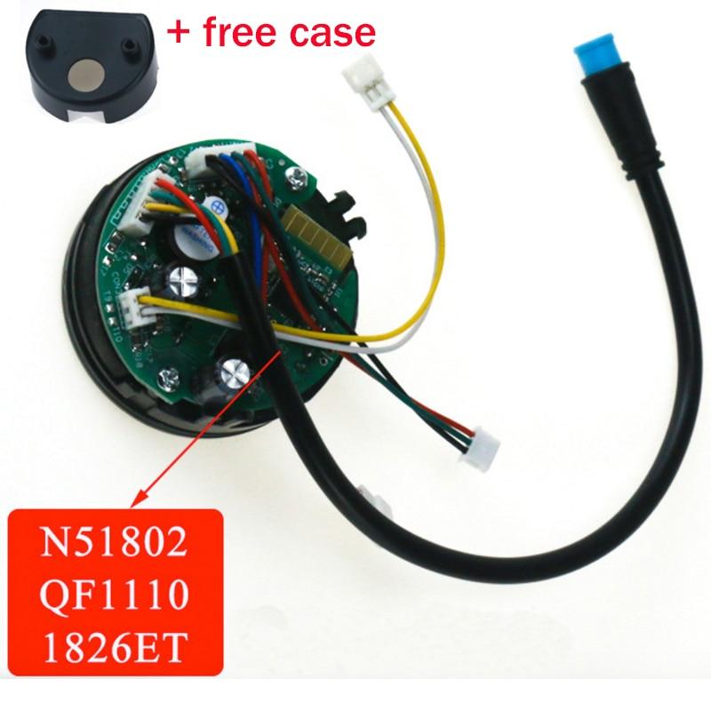Dashboard For Ninebot ES1 ES2 ES3 ES4 Electric Kickscooter Scooter Circuit Board Parts Panel Display Dash Board Kit Accessories