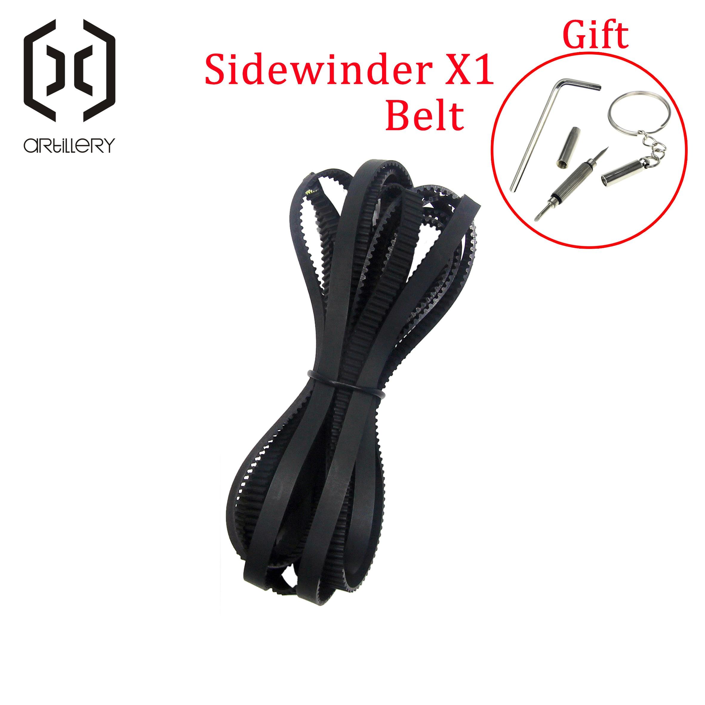2020      artillery 3D Printer Sidewinder X1 AND Genius Belt