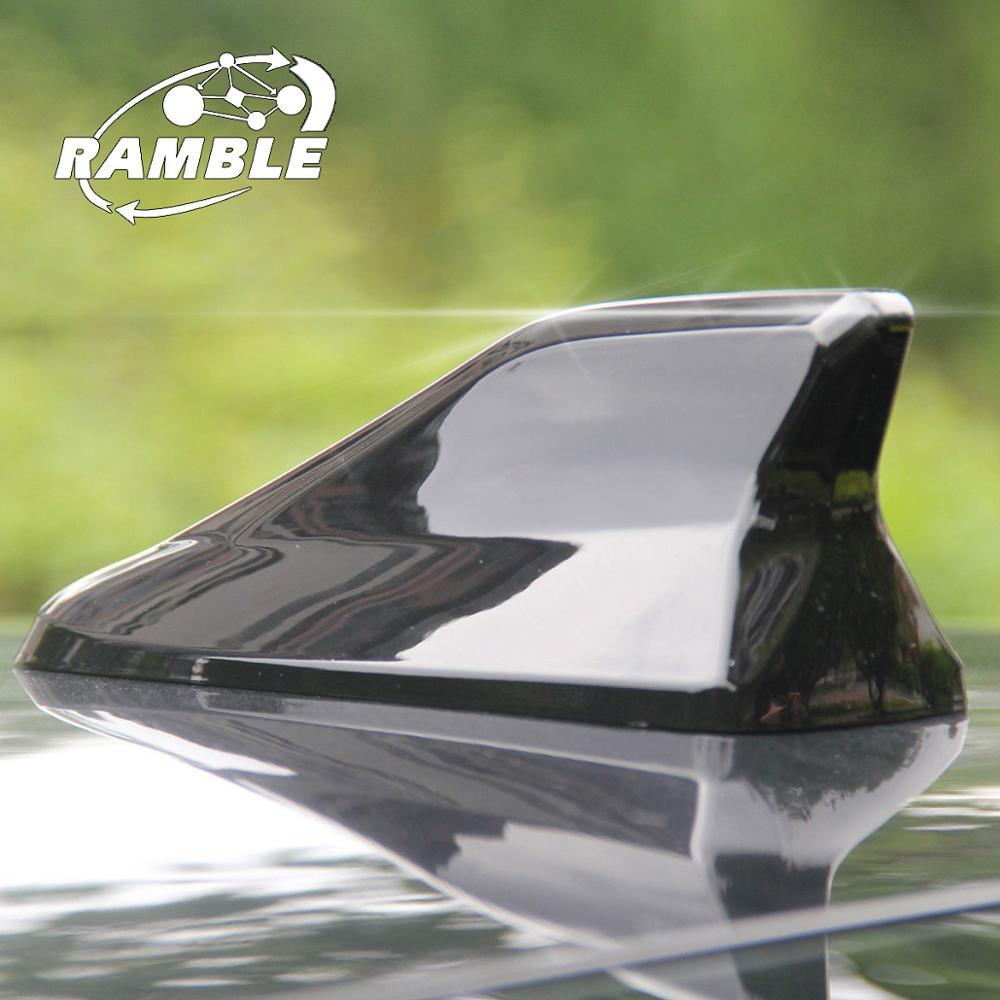 Universal para a maioria dos carros antena de barbatana de tubarão veículo antenas de áudio cobre barbatana de tubarão rádio aerails aleta de tiburon antena modelo