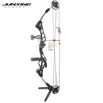 Junxing Archery 35-55 Lbs Compound Bow And Arrow Set, 310FPS, 70% Labor Saving Rate, Shooting Hunting Accessories 5