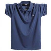 Summer Men Polo Shirt Brand Clothing Pure Cotton Men Business Casual Male Polo Shirt Short Sleeve Breathable Soft Polo Shirt 5XL