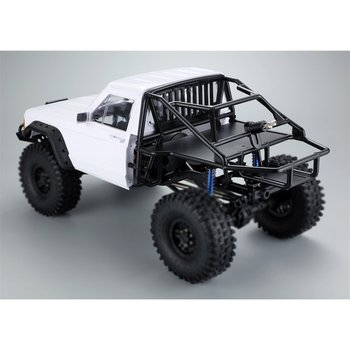 RC Car Cherokee Body Cab & Back-Half Cage for 1/10 RC Crawler Traxxas TRX4 Axial SCX10 90046 Redcat GEN 8 Scout II