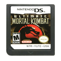 DS Game Cartridge Console Card Ultimate Mortal Kombat VS Versie Engels Taal voor Nintendo DS 3DS 2DS