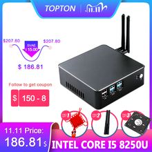 "Draagbare Mini Pc I7 7567U I5 8250U I3 8130U 8Gb DDR4 1 * Msata Ssd + 1*2.5 ""Sata Hd Windows 10 Nuc Grafische 4K Htpc Wifi Hdmi Vga"