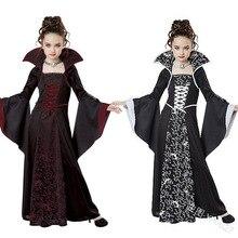 Лидер продаж для девочек с цветочным принтом платье лолиты, в готическом стиле Стиль Принцесса платья для танцев Ренессанс наряд средневековый Винтаж сценические наряды