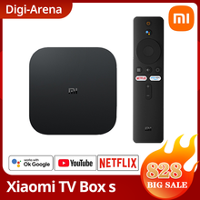 Versión Global Xiaomi funda para TV Mi S 4K HDR Android TV Streaming Media Player Google asistente inteligente Mi TV Stick 2K