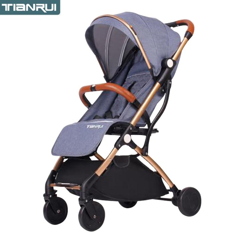 TIANRUI детская коляска легко переносится и может быть на самолете ускоренная доставка|Легкая коляска| | АлиЭкспресс