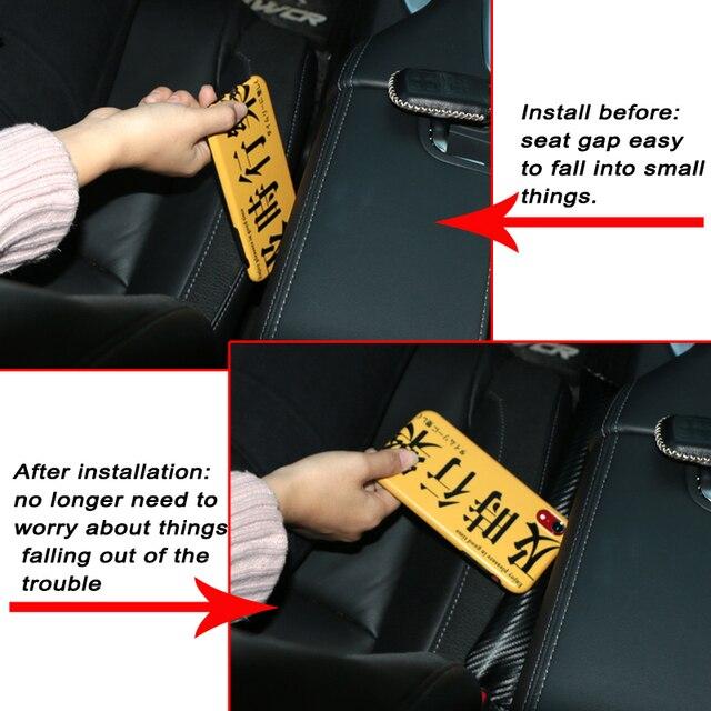 Cojín de asiento de coche, tapón de brecha, Protector a prueba de fugas, funda de auto para WRX Subaru Impreza Forester Tribeca XV, accesorios