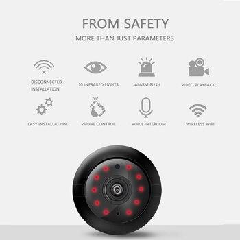 цена на Home Security Camcorders V380 Mini Wifi Camera Night Vision Motion Detection IP Camera Wireless CCTV Infrared 2-Way Audio