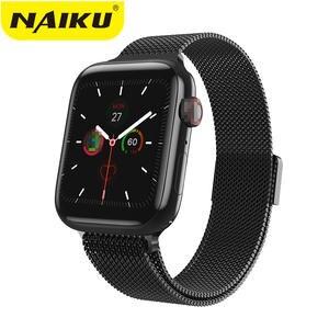 NAIKU Monitor Smartwatch Bluetooth-Call Xiaomi iPhone Android 8-Lite for Pk/Iwo/8/10-band