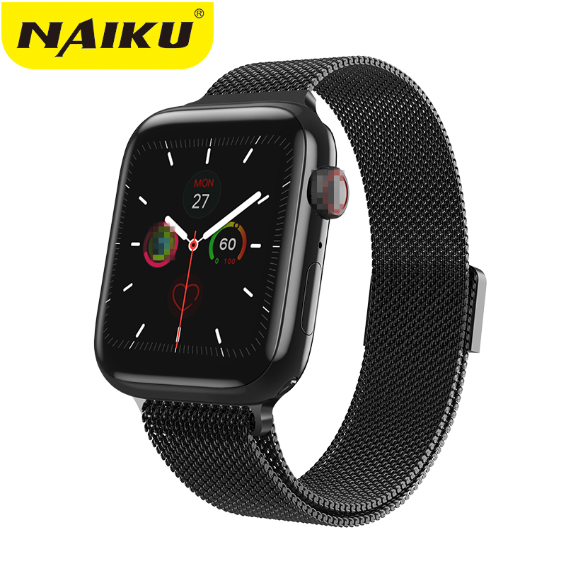 NAIKU IWO 8 Lite Bluetooth Call Smart Watch ECG Heart Rate Monitor W88/W98 Smartwatch For Android IPhone Xiaomi PK Iwo 8 10 Band