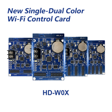 HD W00 HD W02 HD W03 HD W04 wifi LED carte de contrôle sans fil P10 LED de contrôle soutien dappli de téléphone Android système de lenvoi nouvelles