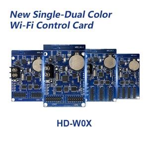 Image 1 - HD W00 HD W02 HD W03 HD W04 wifi led بطاقة التحكم اللاسلكية P10 led تحكم دعم الهاتف app الروبوت نظام سادة إرسال الأخبار
