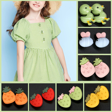 6pcs Cartoon Children Clothing Button Coat Decorative Flower Small Buckle Sewing Garment Tiny Apparel Snap Buttons Accessories