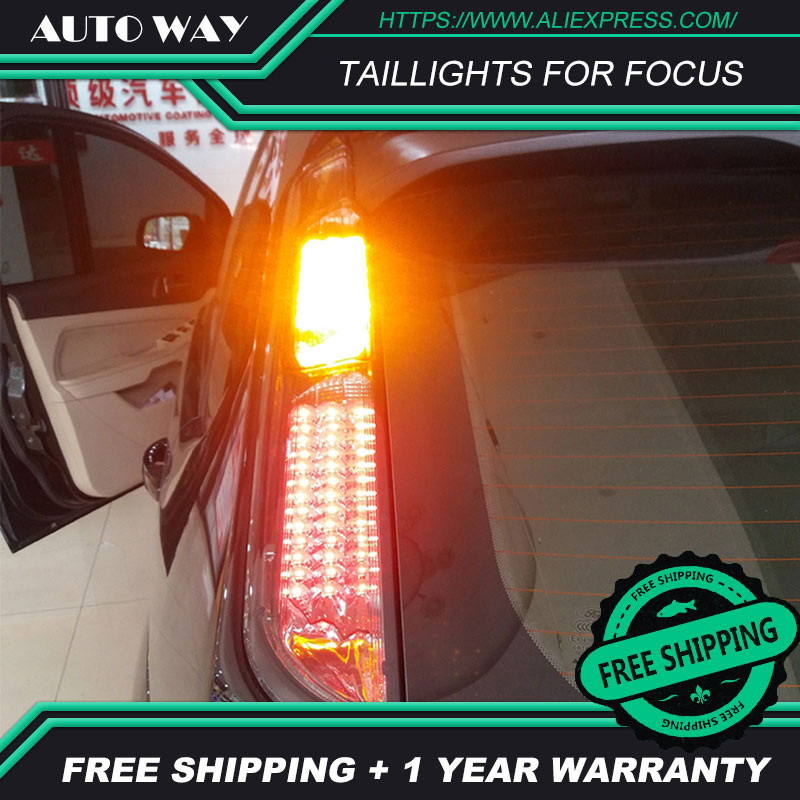 Car Styling case for <font><b>Ford</b></font> <font><b>focus</b></font> <font><b>taillights</b></font> 2005-2013 Design <font><b>Ford</b></font> <font><b>focus</b></font> LED <font><b>focus</b></font> <font><b>taillight</b></font> TAIL Lights All LED Rear Lamp image