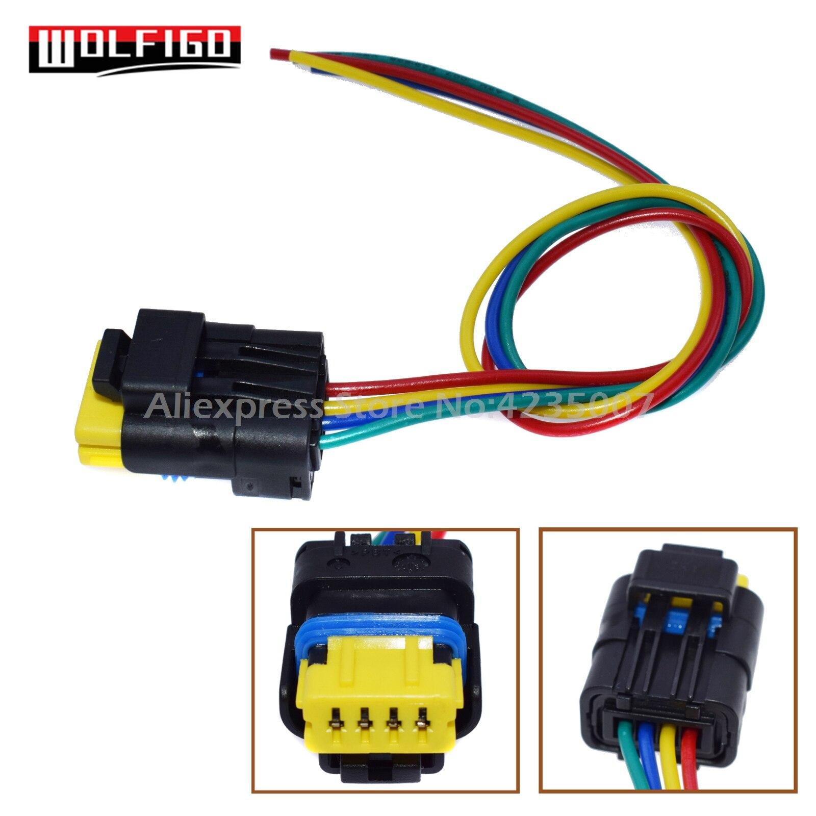 fuel pump wire harness wolfigo new fuel pump cable wire wiring harness plug 4 pin for fuel pump wiring harness color cable wire wiring harness plug