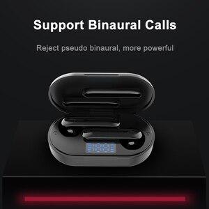 Image 2 - Nouveau casque sans fil Bluetooth contrôle tactile casque sans fil sport oreille crochet écouteurs écouteurs écouteurs avec Microphone
