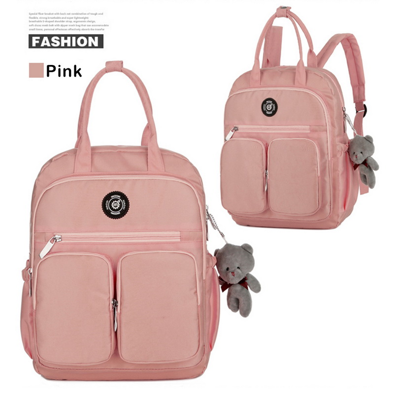 H6f0285eec1aa4946bddf8677ea55ddf86 - New Waterproof Nylon Backpack for Women Multi Pocket Travel Backpacks Female School Bag for Teenage Girls Dropshipping